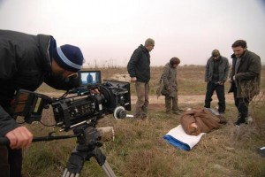 "On the set of ""Tarantyno"""