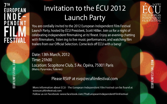cu launch party 2012 - Launch Party Invitation